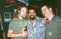 Anders Osborne, Joe Perez, Steve at Back Room, Delray Beach (11/13/97)