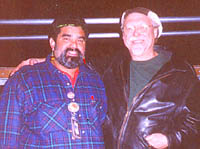 "Joe and Bill Wharton ""Sauce Boss"" at Riverwalk Blues Fest, Ft Lauderdale (11/8/97)"