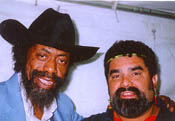Son Seals and Joe at Riverwalk Blues Fest, Ft Lauderdale (11/9/97)