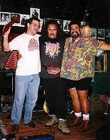 "Steve Apple, Terrance Simien and Joe ""Pony Dancer"" Perez at The Back Room - Delray Beach, Florida"