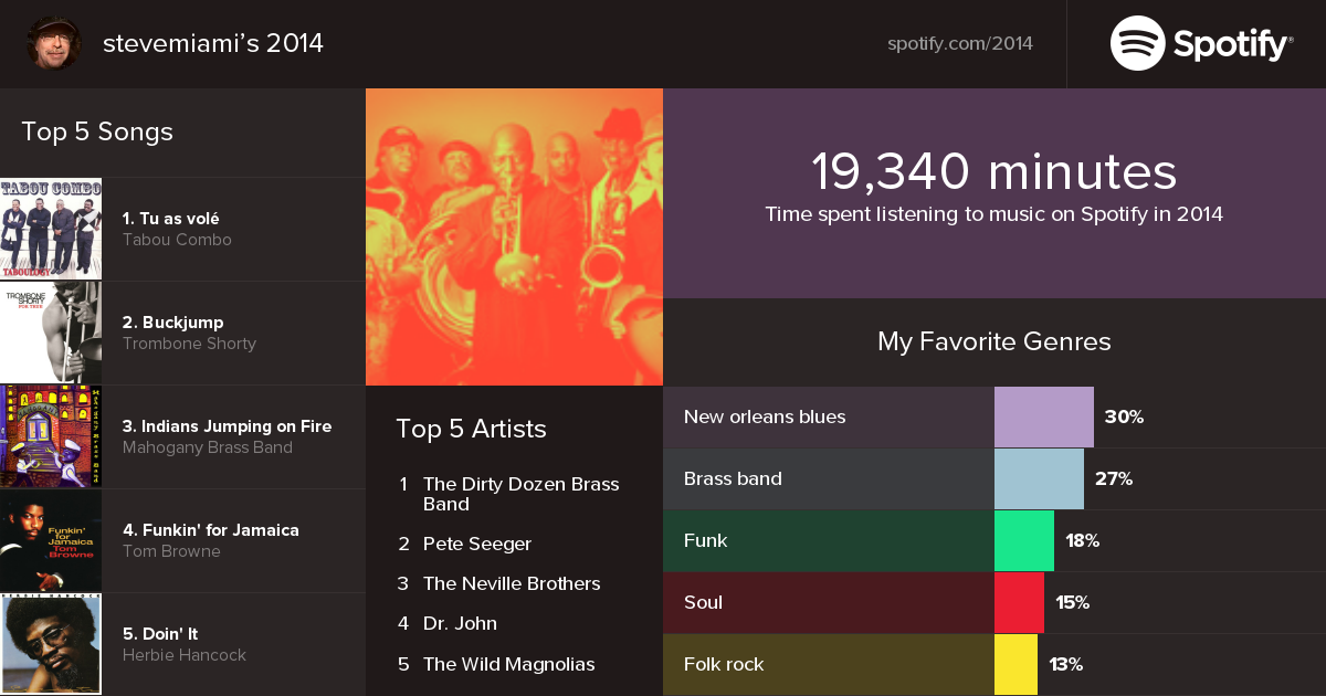 spotify year in review 2014